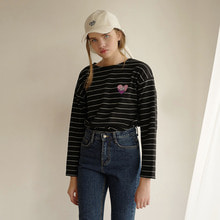 Heart Stripe T